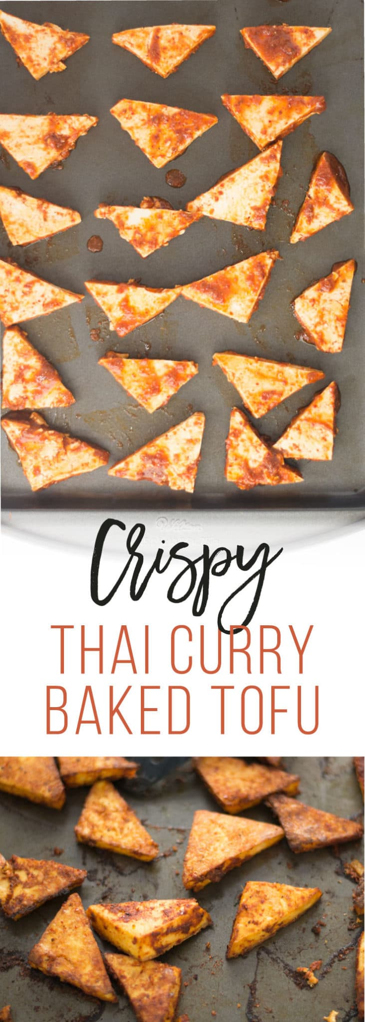 Thai Tofu Curry -- This Thai-inspired tofu has the perfect amount of spice and it so easy to make. Top off a big bowl of salad or hearty grains and you have yourself a filling vegan meal. | mindfulavocado