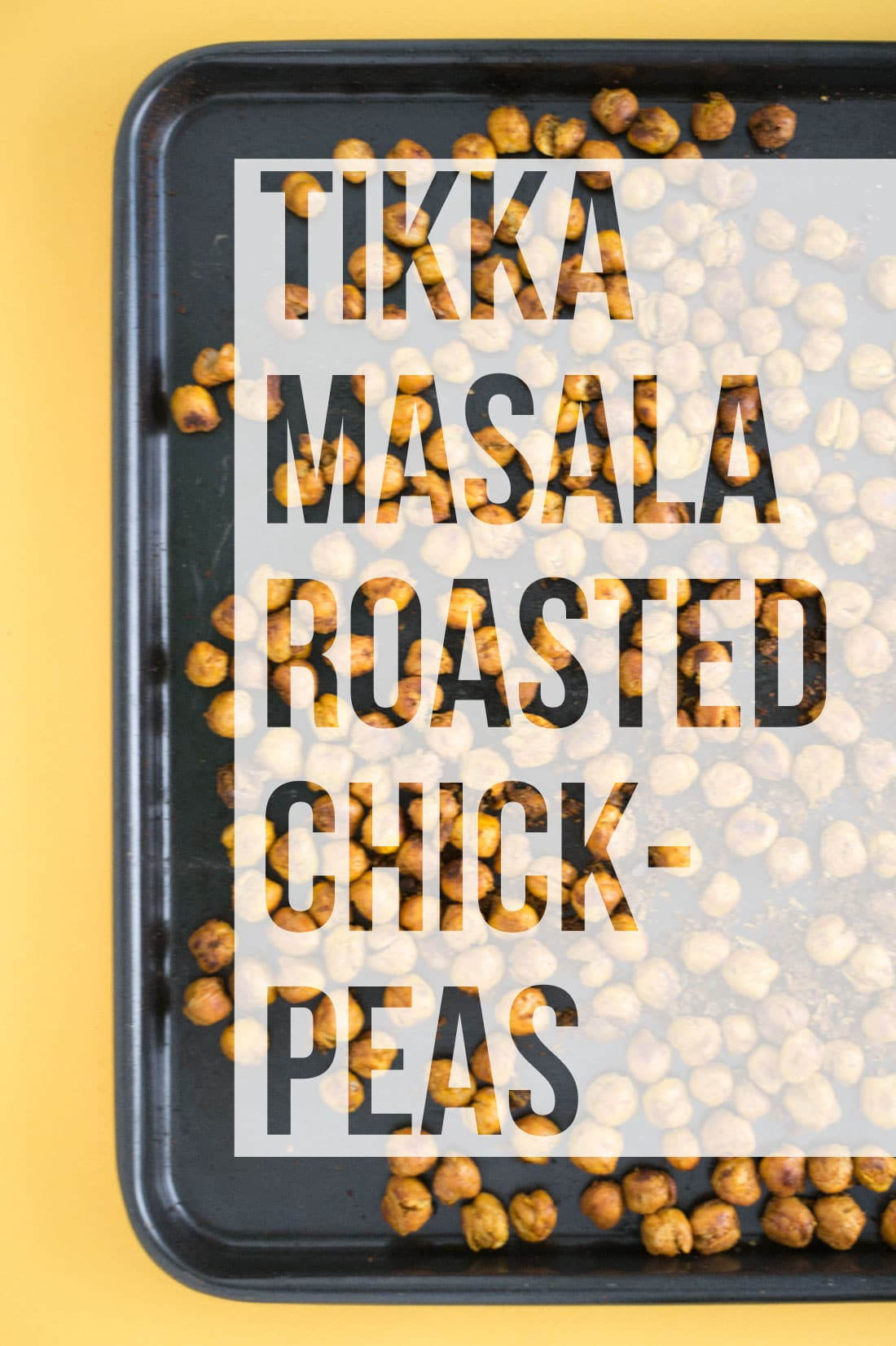 Tikka Masala Roasted Chickpeas -- It takes a handful ingredients to make this protein packed vegan and gluten free snack. Perfect for salads, soups, or on their own - mindfulavocado