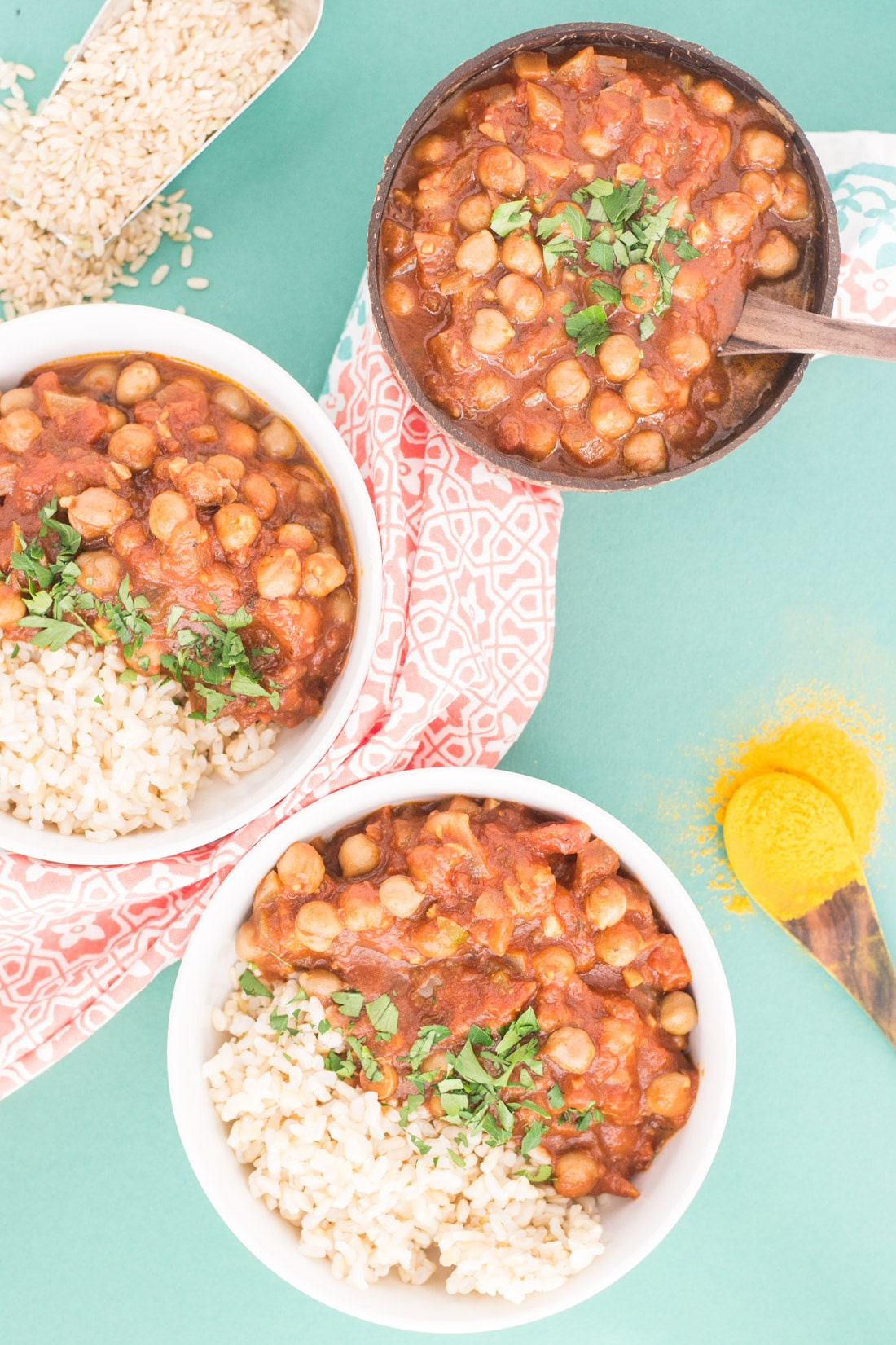 Slow cooker chana masala vegan plant based food blog vegan slow cooker chana masala easy chana masala recipe made with healthy ingredients just forumfinder Image collections