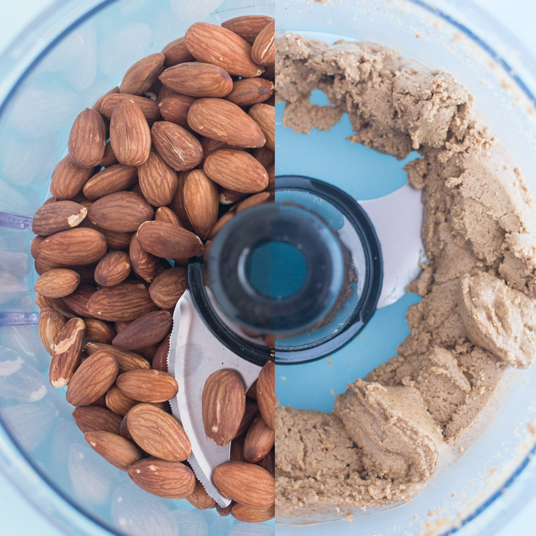 Pumpkin Spice Almond Butter -- This almond butter is so easy to make and only requires a few ingredients. Almonds, pumpkin, spices, and maple syrup make up this recipe. In less than 20 minutes you have yourself a healthy vegan, gluten free, and paleo friendly snack that is Fall approved. - mindfulavocado