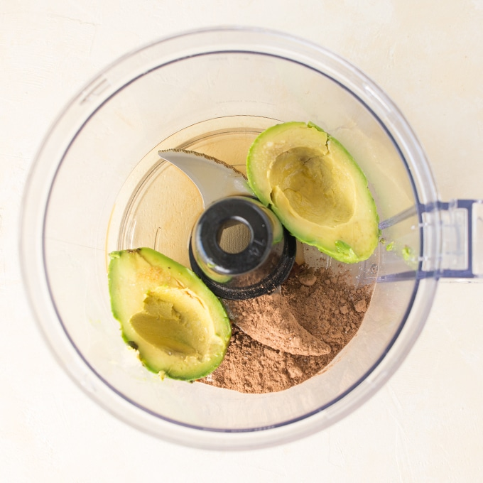 how to make chocolate mousse in food processor