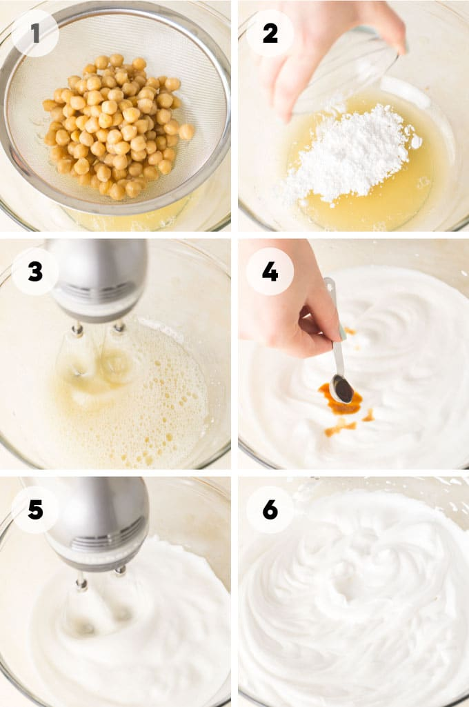 how to make vegan whipped cream also known as aquafaba