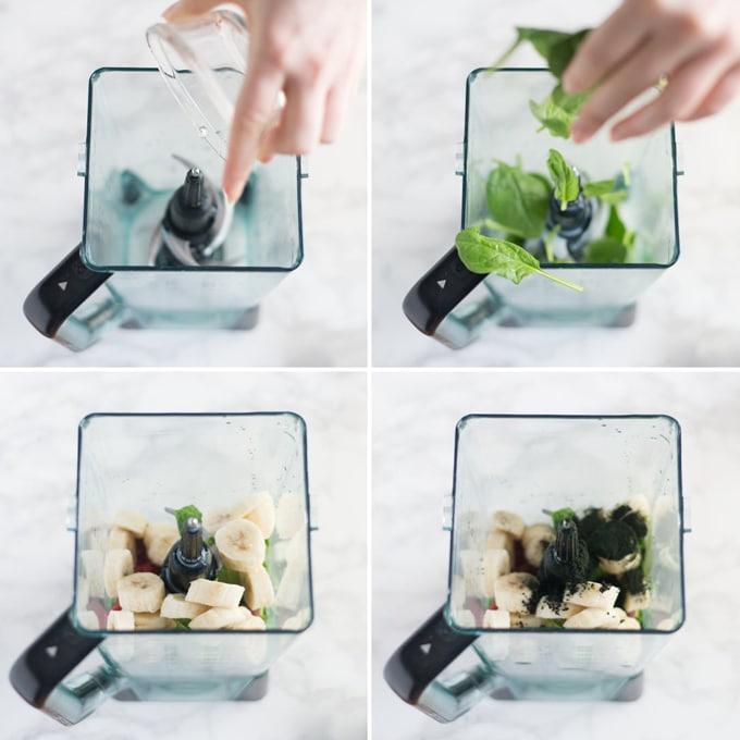 how to make spirulina smoothie bowl