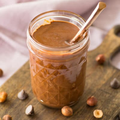 Homemade Nutella – Just 5 Ingredients! + VIDEO