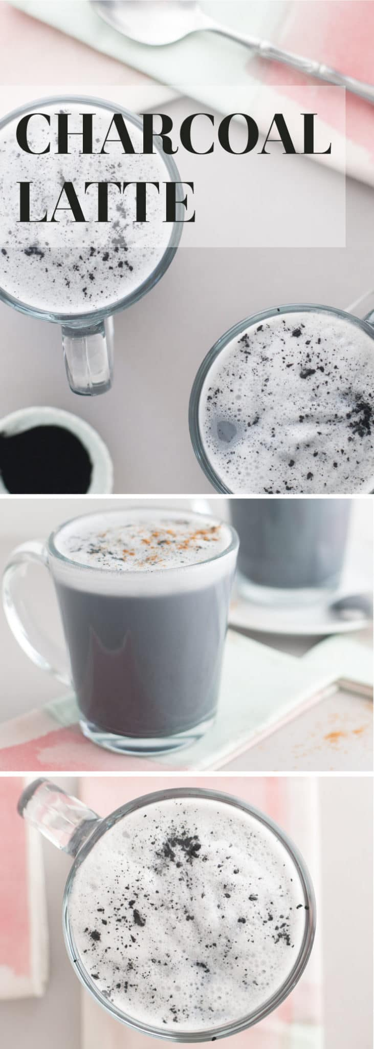 Activated Charcoal Latte -- This latte is all you need to detox and feel great. Activated charcoal has amazing benefits for the inside and out. - mindfulavocado