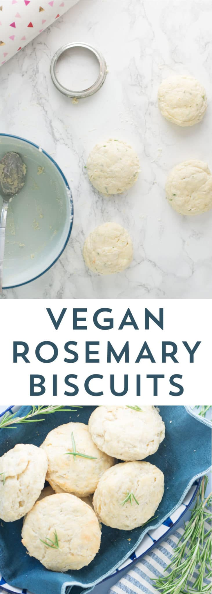 Rosemary Biscuits -- Not only are these biscuits vegan, but they are the perfect savory addition to any meal of the day. - mindfulavocado
