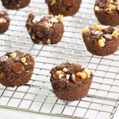 Vegan Black Bean Brownie Bites + VIDEO!