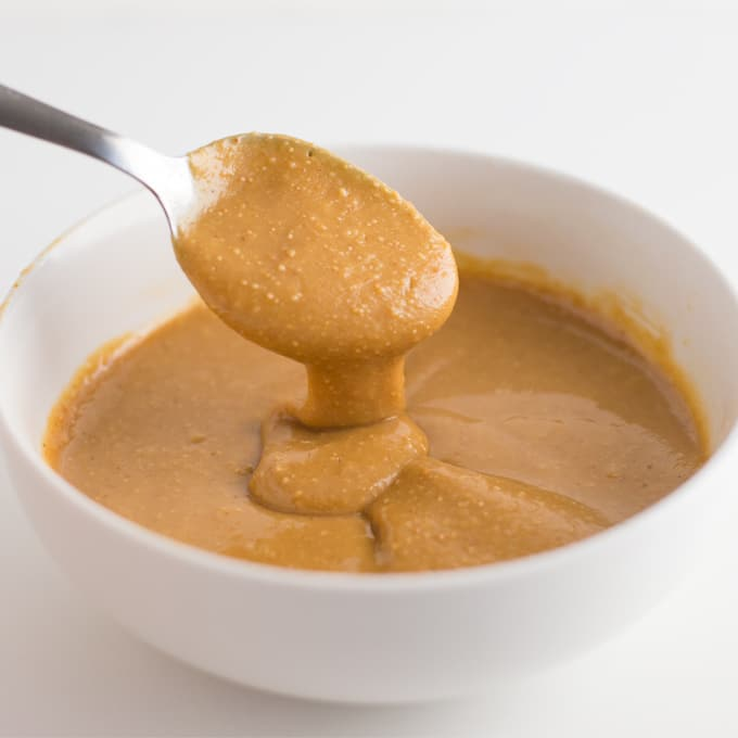 peanut butter in bowl