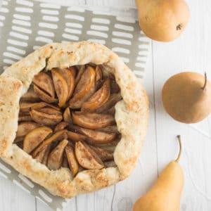 Mindful Avocado vegan-pear-galette_007-300x300 Vegan Pear Galette