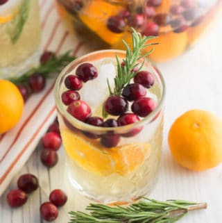 Cranberry Clementine White Sangria