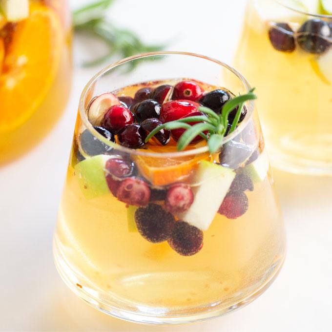 cranberry white sangria recipe