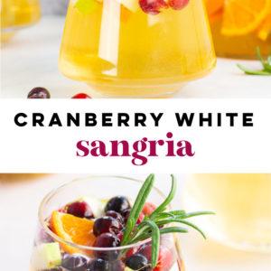 cranberry white sangri