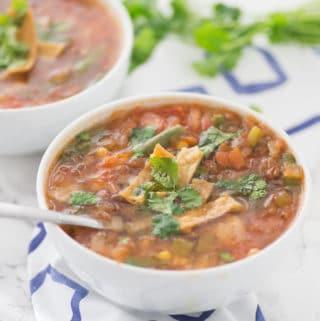 Vegan Southwestern Soup