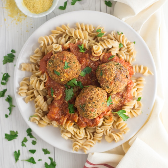 Easy Vegan Tofu Meatballs + VIDEO!