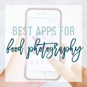 Best photo editing apps for food