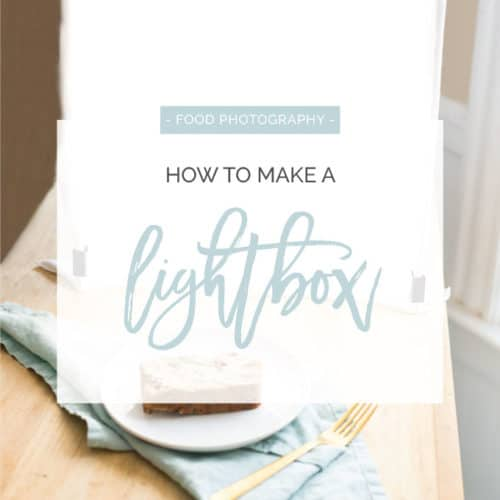 How to Make a Photography Light Box for Cheap!