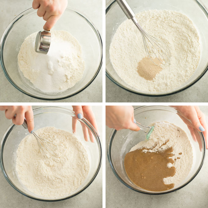 instructions on how to make cinnamon roll dough
