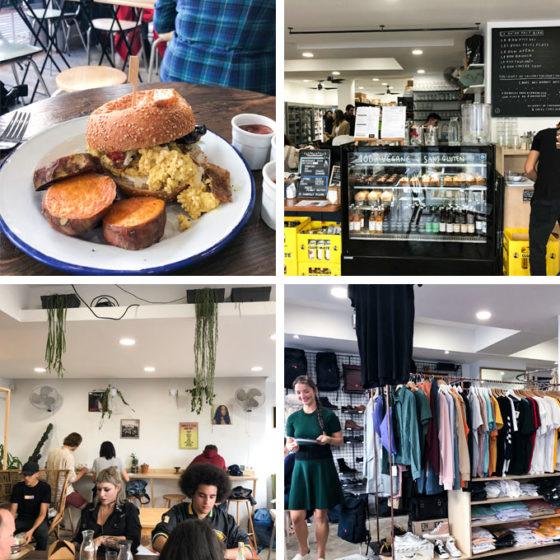 aujourdhui demain is a vegan concept shop in paris, france