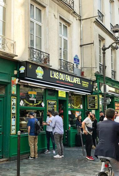 l'as du falafel in paris, france