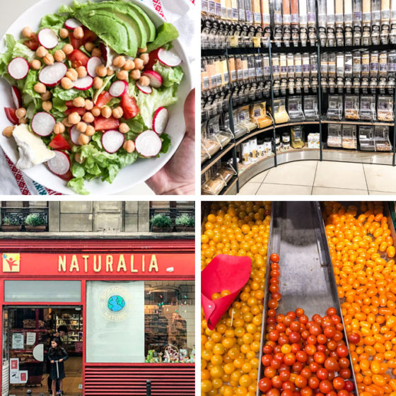 grocery shopping in paris, france. franprix, monoprix, carrefour, and naturlia