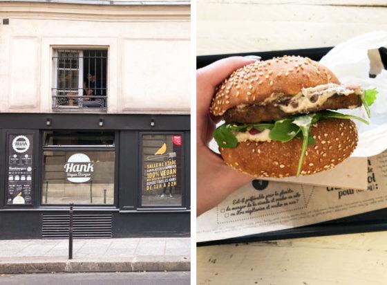 hank burger is a vegan restaurant in paris, france