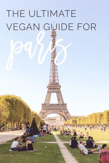 The Ultimate Vegan Guide for Paris -- Discover the best vegan restaurants, shops, festivals, bakeries and more in the city of love! #travel #vegan #paris #restaurants #food #france | mindfulavocado