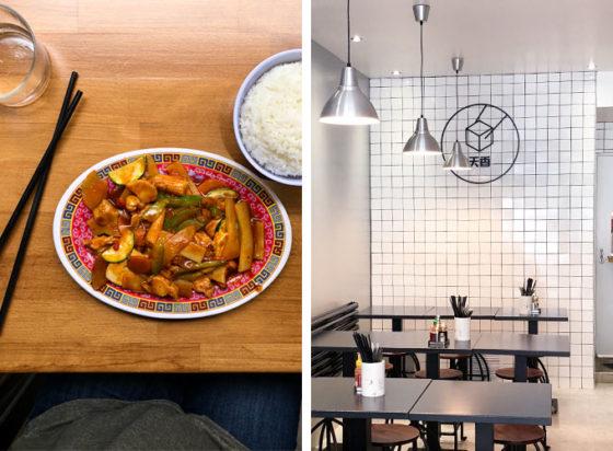 Tien huing is a vegetarian Asian restaurant in Paris, France