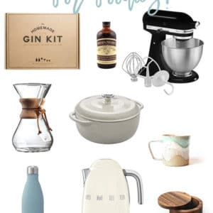Holiday Gift Guide for Foodies -- This list has all the ideas for gifts this holiday season. With gifts of all different price points, you can check off all the foodies on your list with this gift guide! #giftguide #christmas #giftideas #christmas2018 | Mindful Avocado