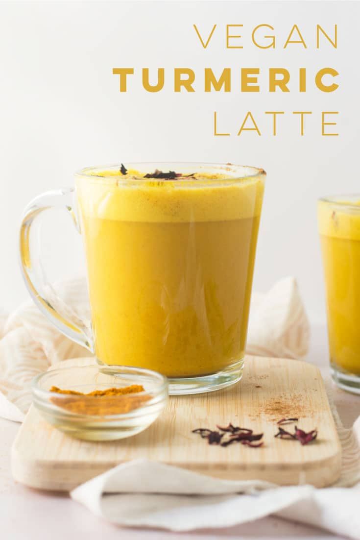 Turmeric Latte aka Golden milk is a beautiful health elixir! Coconut milk, turmeric, warm spices, and a hint of sweetener make this latte recipe so cozy and healthy. #healthy #detox #vegan #dairyfree #latte #turmeric #easy | Mindful Avocado