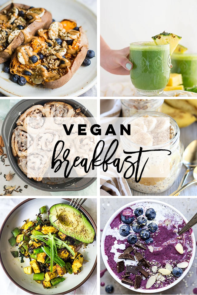 Vegan breakfast ideas for Veganuary