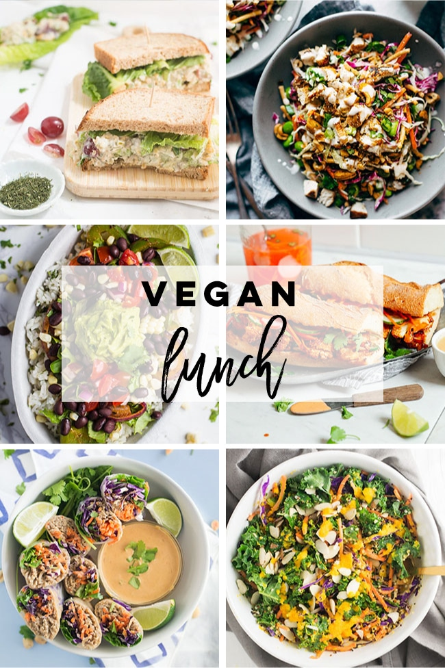 Vegan lunch ideas for Veganuary