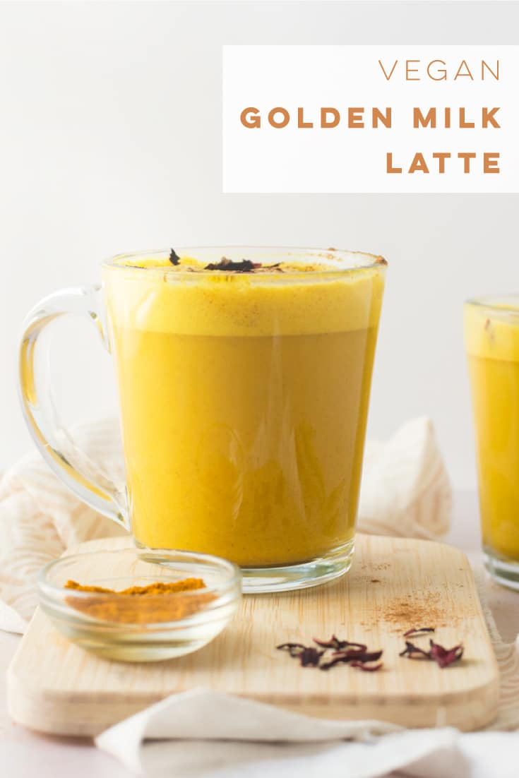Turmeric latte recipe aka Golden milk is so easy to make and the coziest healthy beverage. This recipe is vegan, gluten-free, and plant-based! #healthy #detox #vegan #dairyfree #latte #turmeric #easy | Mindful Avocado