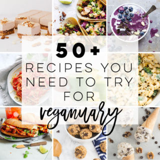 Vegan recipes for Veganuary