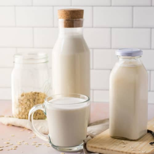 Homemade Vanilla Oat Milk + VIDEO!