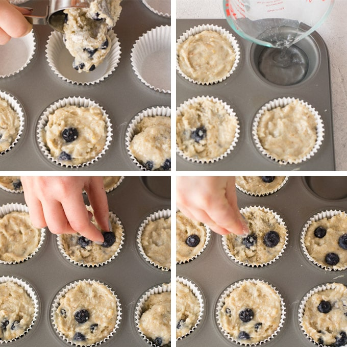tips on making blueberry muffins