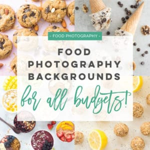food photography background ideas