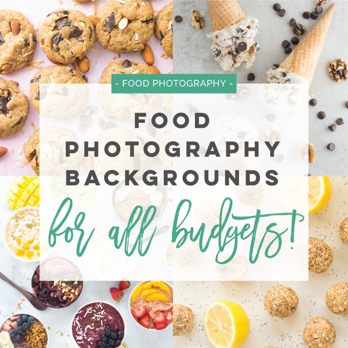 Food Photography Backgrounds for All Budgets
