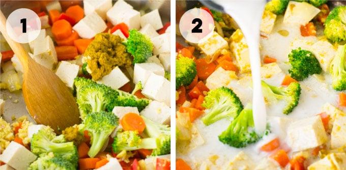 how to make vegan thai green curry