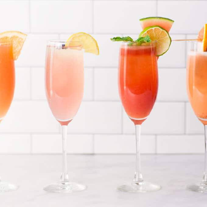 The BEST Mimosa Recipe (Plus 4 Variations!)