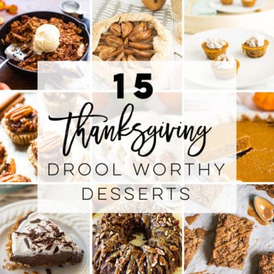15 Vegan Thanksgiving Desserts
