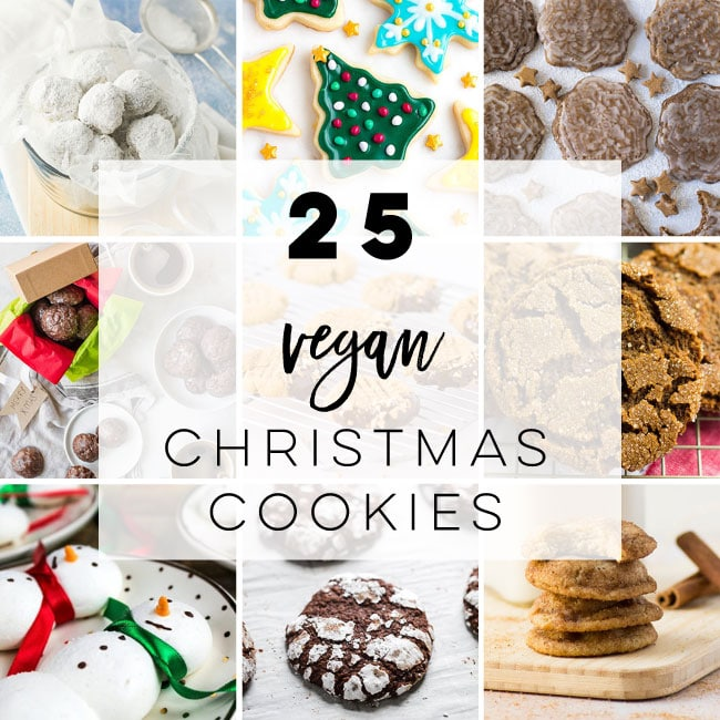 25 Vegan Christmas Cookies