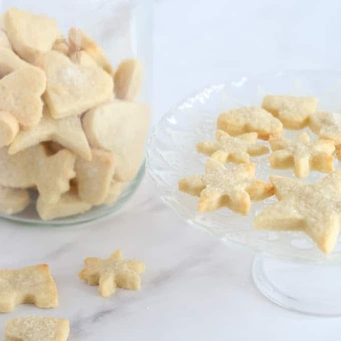 sparkling vegan sugar cookies