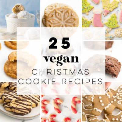 25 Vegan Christmas Cookies