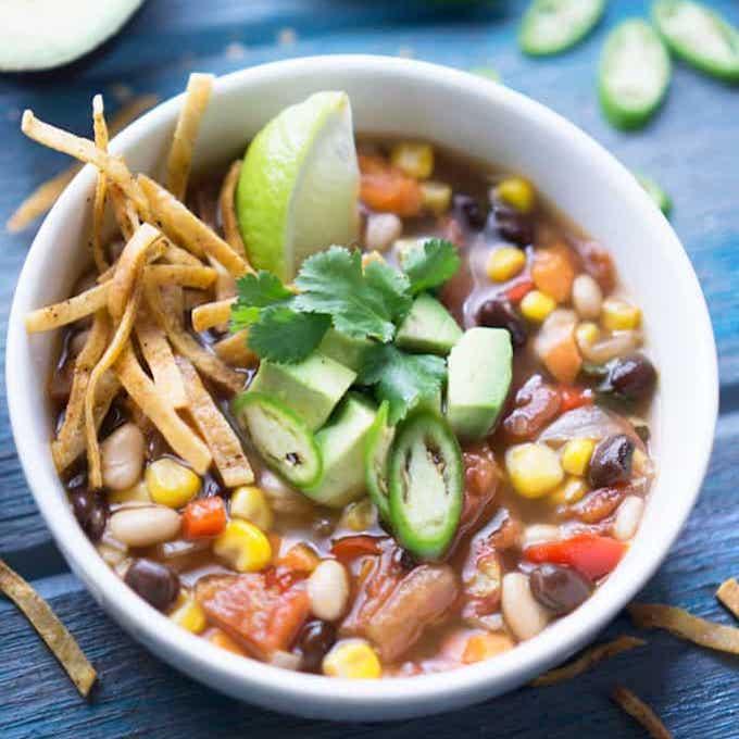 Southwest Vegan Tortilla