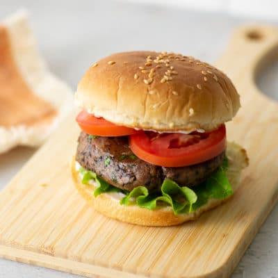 Vegan and GF Black Bean Burgers + VIDEO!