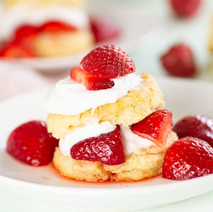 Vegan Strawberry Shortcake + VIDEO!
