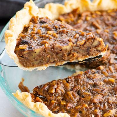 Vegan Pecan Pie + Video!