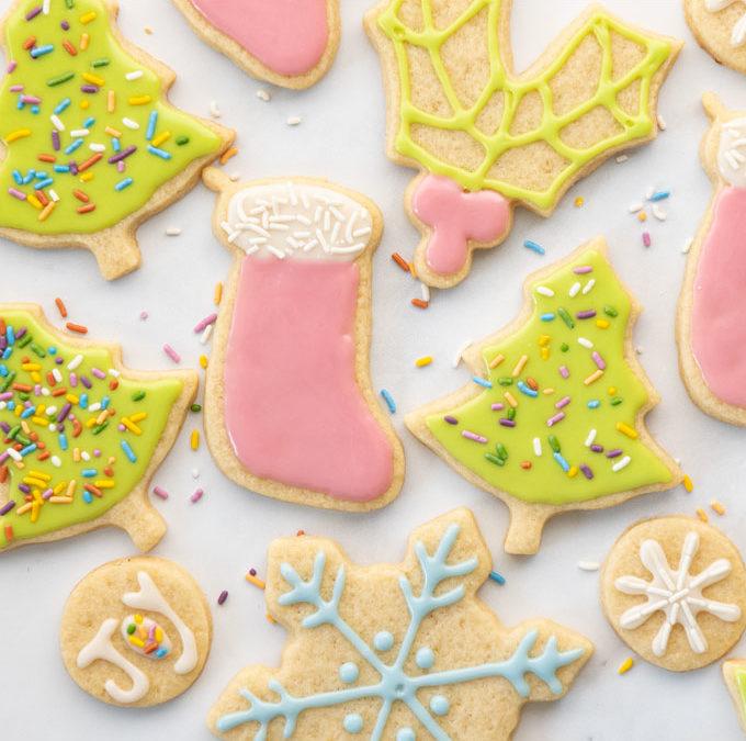 Vegan Sugar Cookies + VIDEO