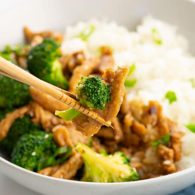vegan beef and broccoli recipe
