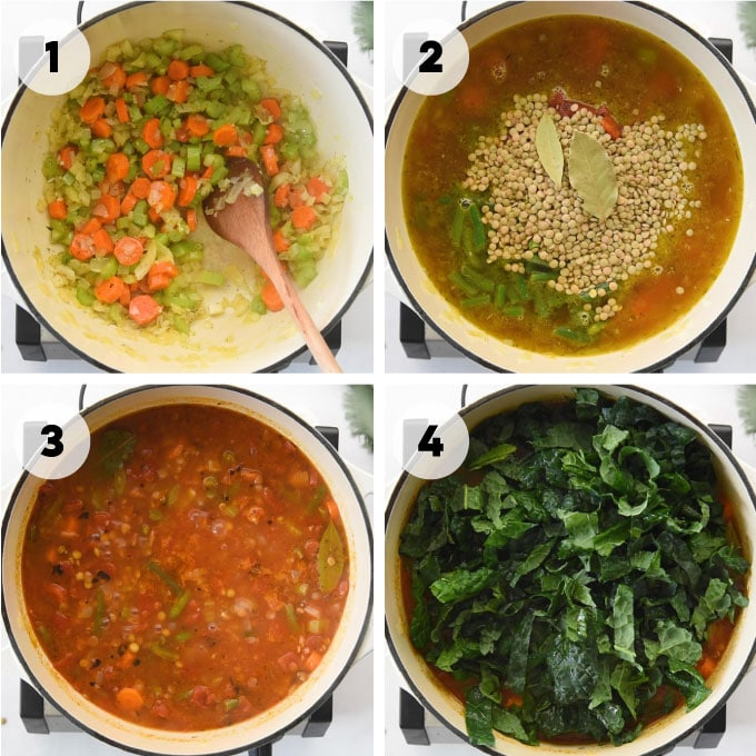 how to make veggie soup from scratch